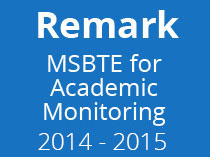 Academic Monitoring for Year 2014 15