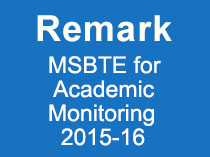 Academic Monitoring for Year 2015 16